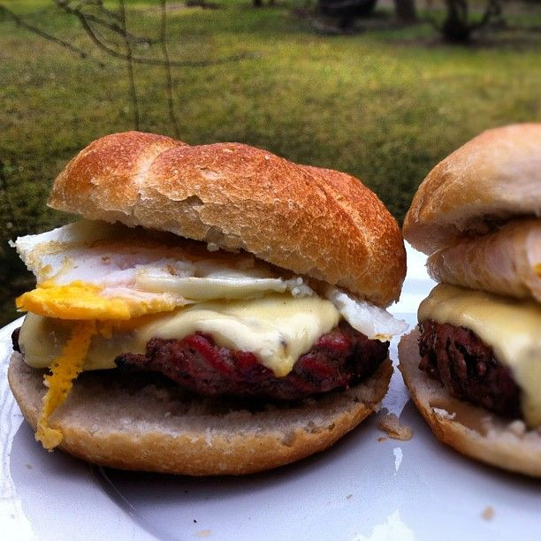 Fried Egg #grill #cheeseburger