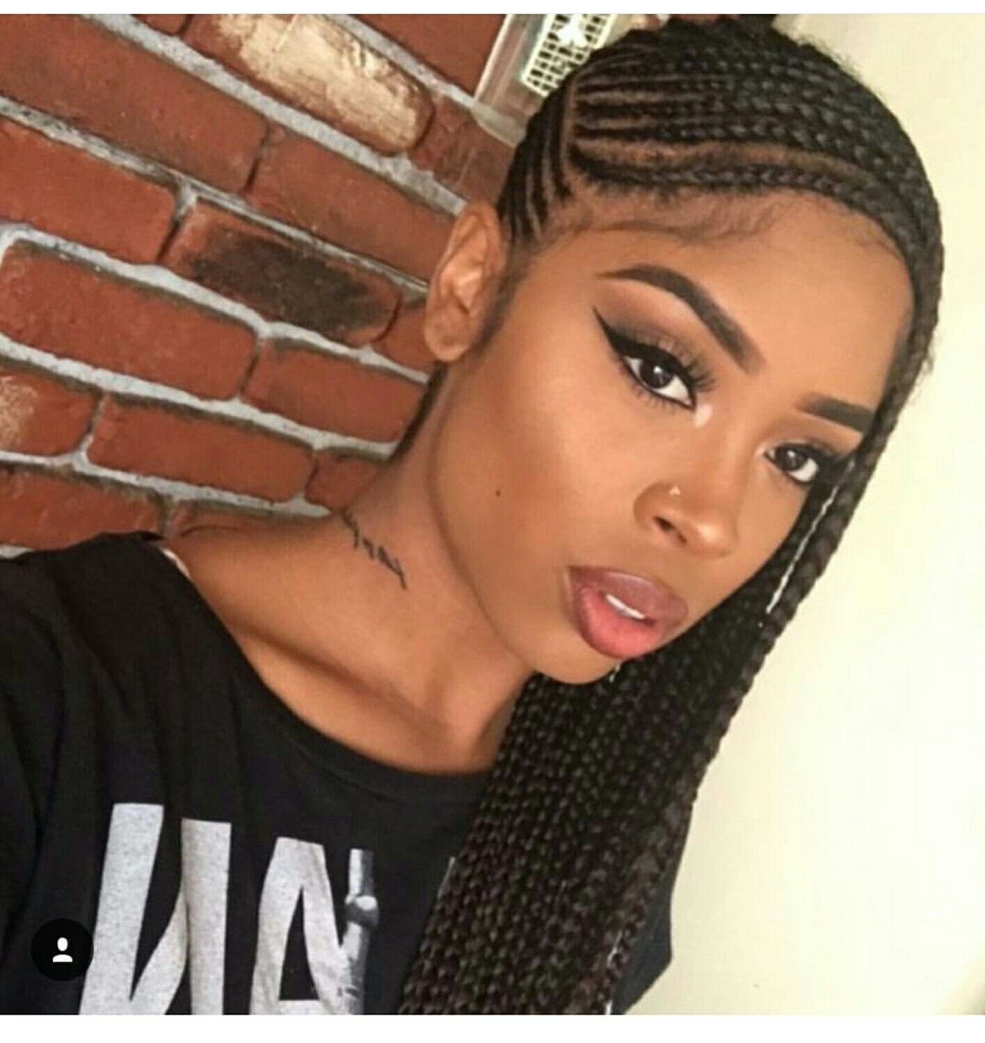 Small Cornrows Hair Weaves Wigs And Braids Pinterest Hair