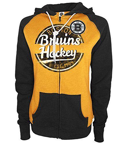 Nhl Boston Bruins Women S Full Zip Hoodie Large Black Full Zip Hoodie Hoodies Los Angeles Kings