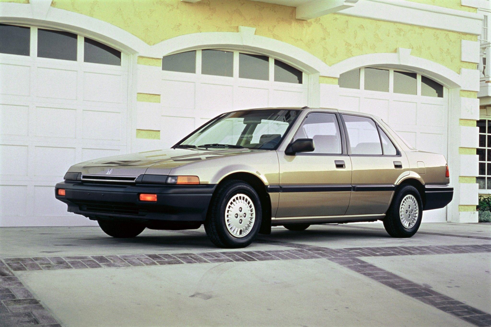 Honda Accord Dx Sedan North America Ca5 1985 87 Honda Accord Honda Sedan
