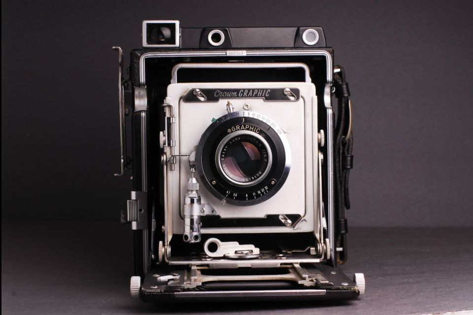 Crown graphic 4x5 large format
