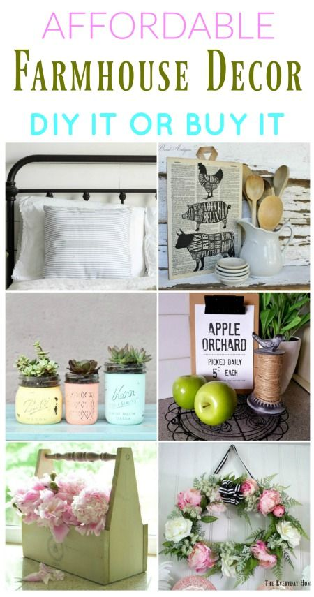 What\'s New in Affordable Farmhouse Style Decor | Farmhouse style ...