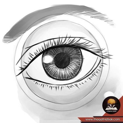 كيف ترسم عين انسان How To Draw Eyes Eye Drawing Human Eye Drawings