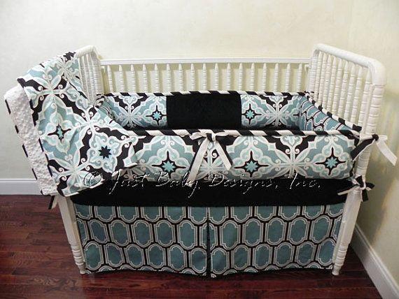 Ready to Ship Baby Crib Bedding Set Harford   by BabyBeddingbyJBD, $319.00