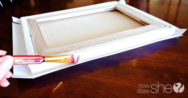 diy canvas prints - Diy Canvas Frame