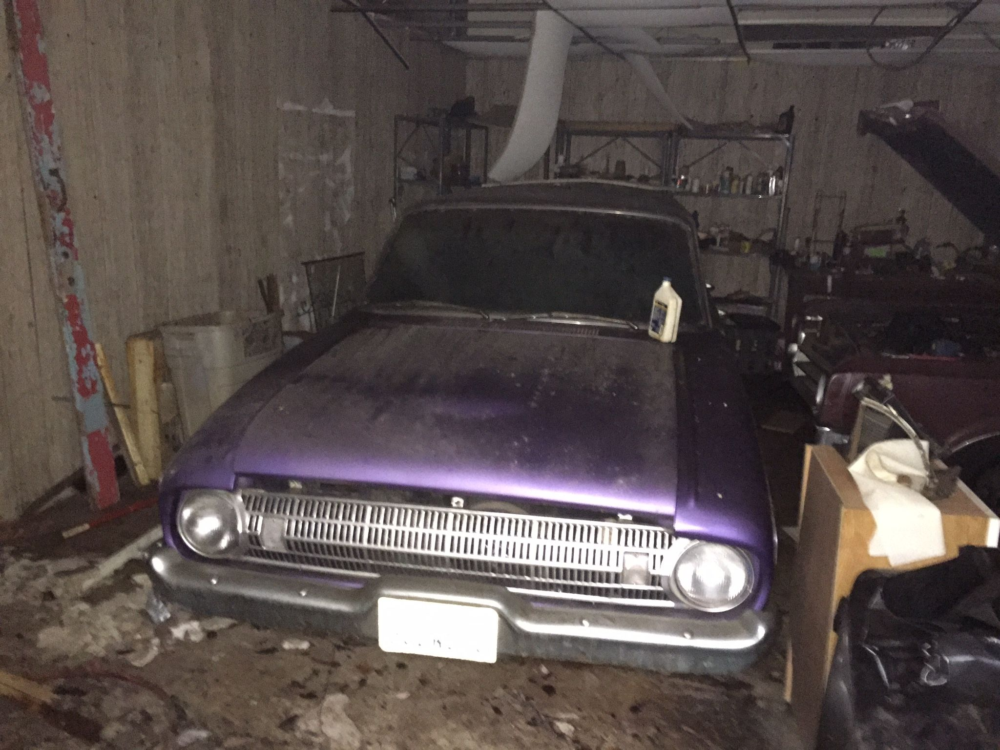 My Barn Find A 1961 Ford Falcon Station Wagon In Plumb Crazy Purple With