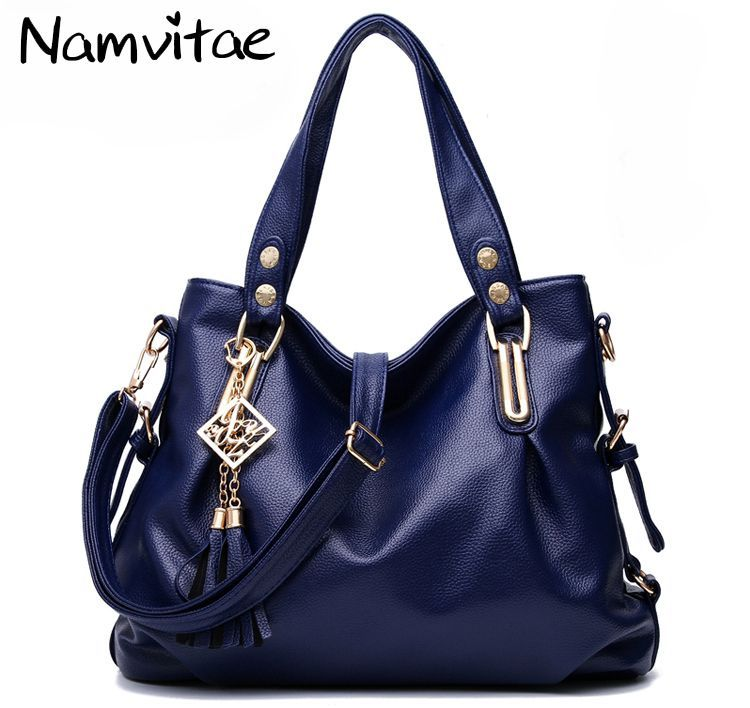 8a55944bee Namvitae Luxury Women Shoulder bags Fashion Leather Tote Bag Casual Female  Handbags Famous Brand Designer Women