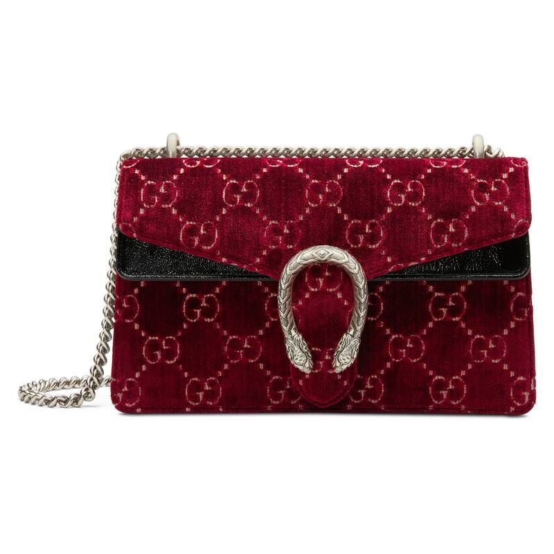 333bc70b8ba3 GUCCI DIONYSUS GG VELVET SMALL SHOULDER BAG.  gucci  bags  velvet  patent   lining  shoulder bags  suede  hand bags