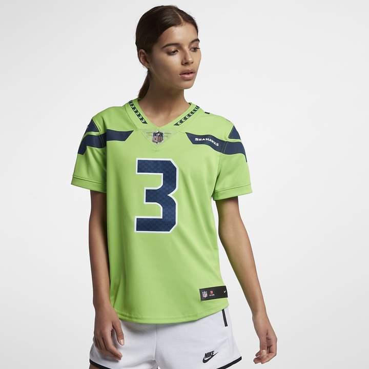 promo code c08cb 2d4ec NFL Seattle Seahawks (Russell Wilson) Women's Limited Vapor ...