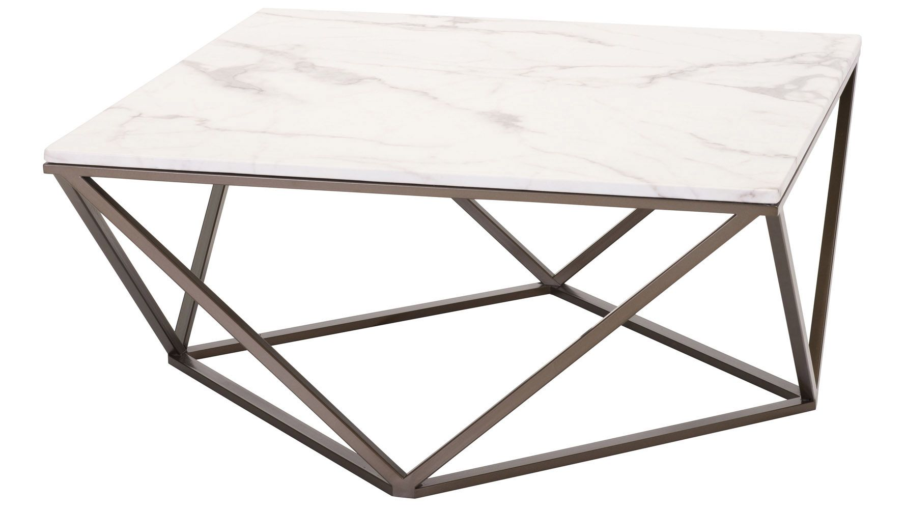 Klee Coffee Table Faux Marble Coffee Table Coffee Table With