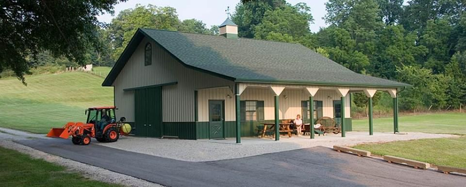 Pole Barn And Post Frame Buildings Gallery Pole Barn Garage