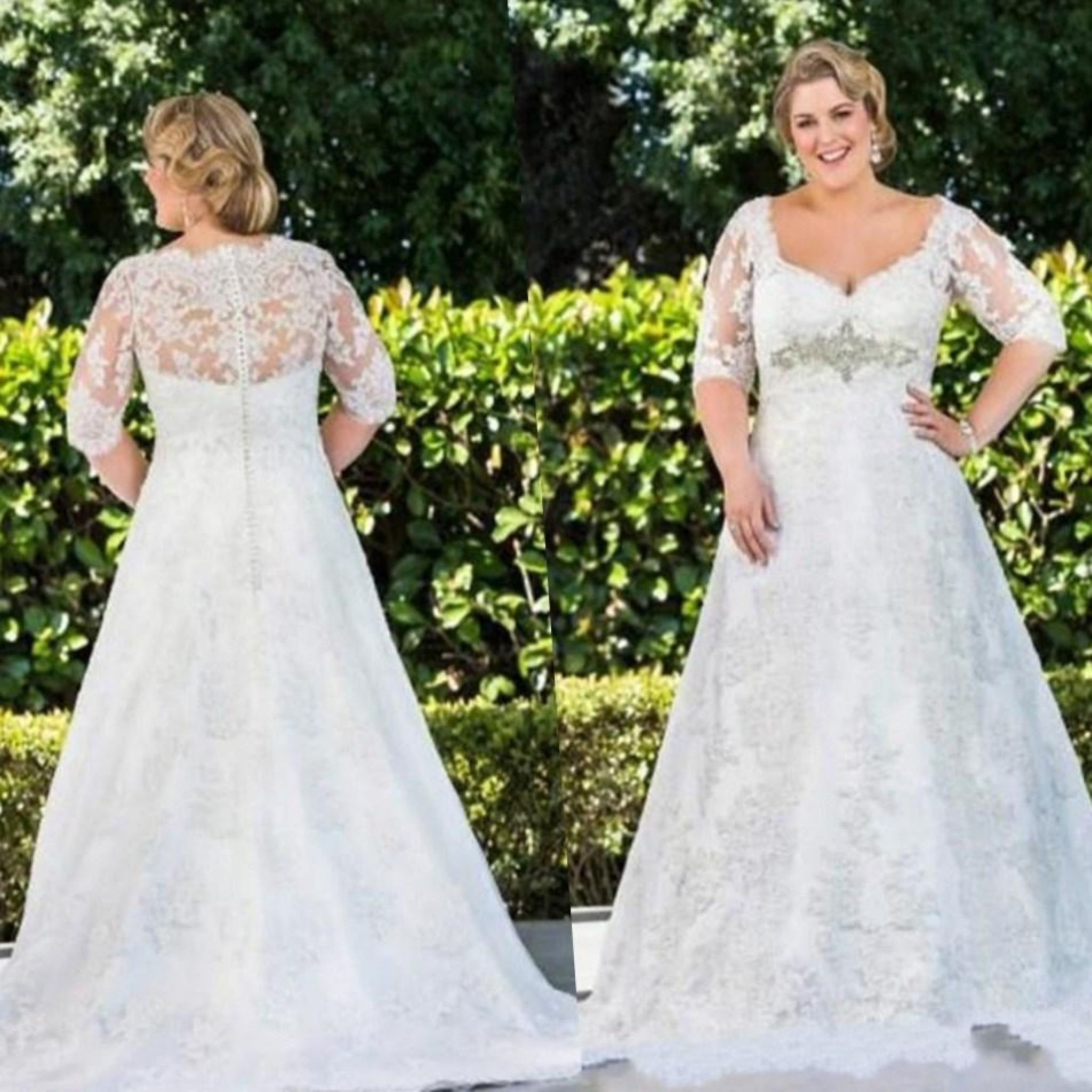 wedding dresses for fat brides - wedding dresses for cheap Check ...