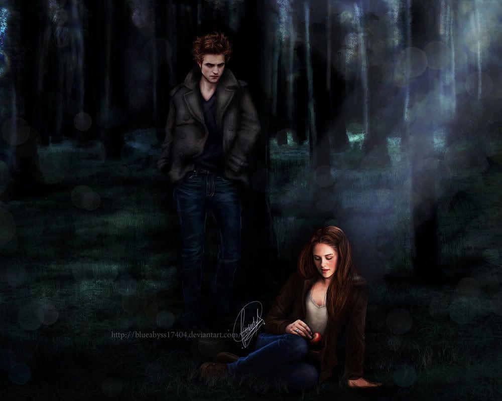 Twilight Breaking Dawn Wallpaper For Iphone Edward And Bella By Blueabyss Twilight Fan Art
