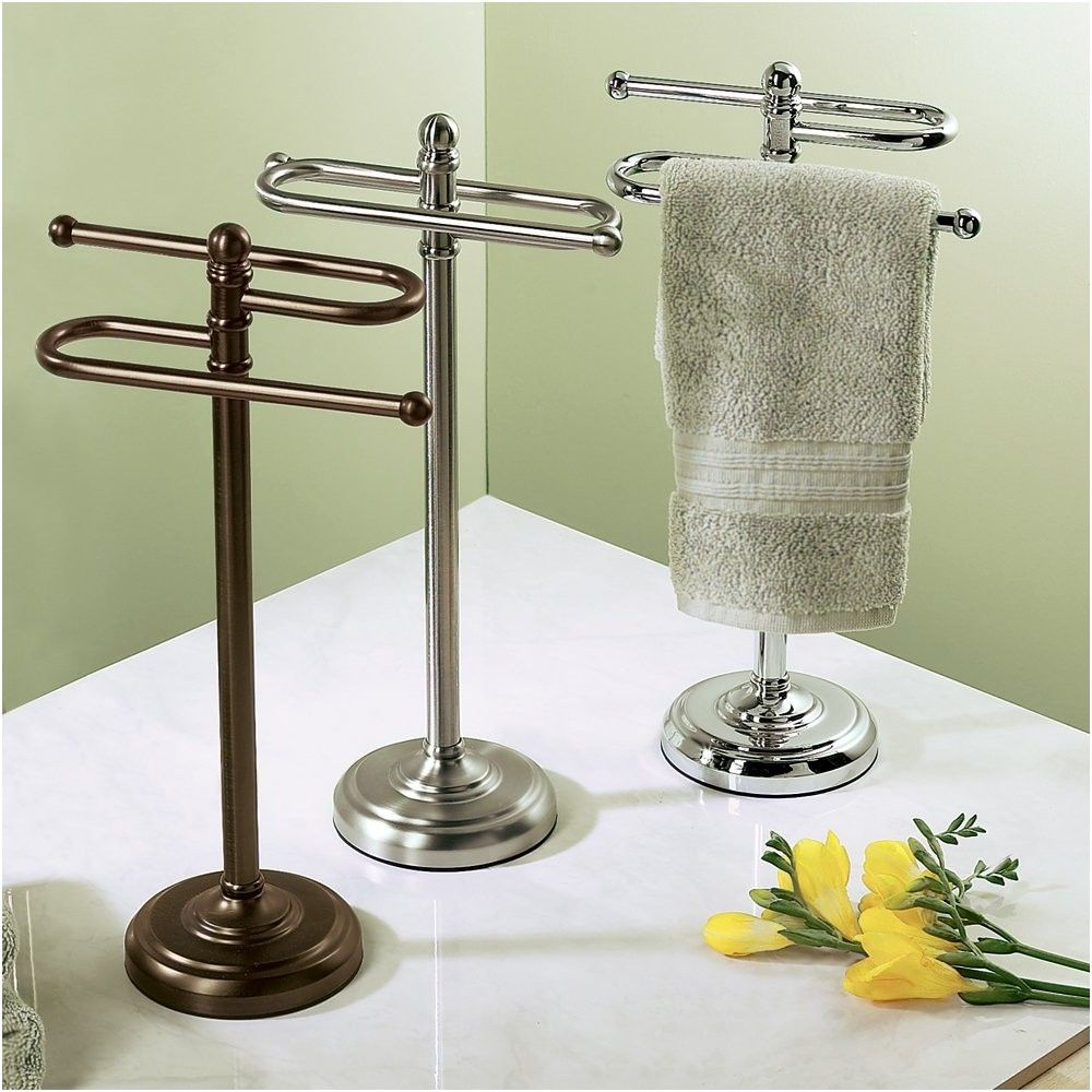 Awe Inspiring Gatco 1547 Counter Top S Style Towel Holder Satin Nickel Home Interior And Landscaping Ologienasavecom