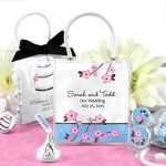 Personalized Wedding Hershey's Kisses Mini Gift Tote  $3.06 each