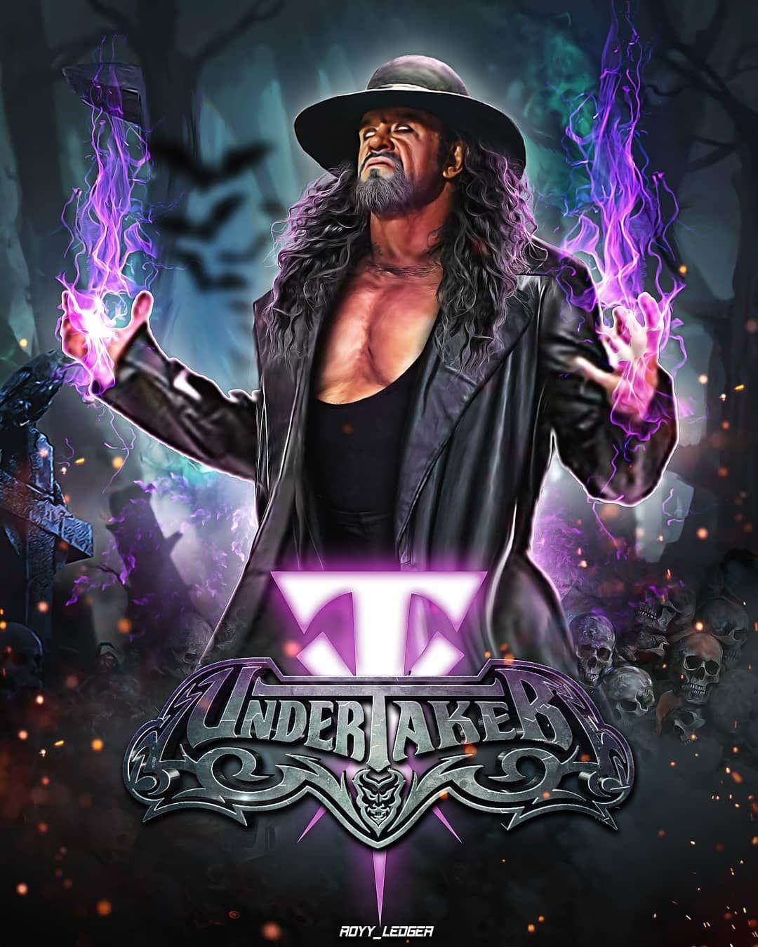 "The Undertaker 11/""x17/"" Art Poster Print WWE World Wrestling Entertainment"