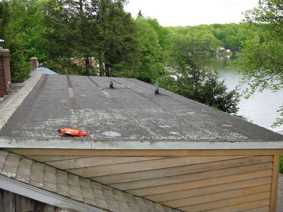 Flat and Low Slope Roofing on Shed Dormers
