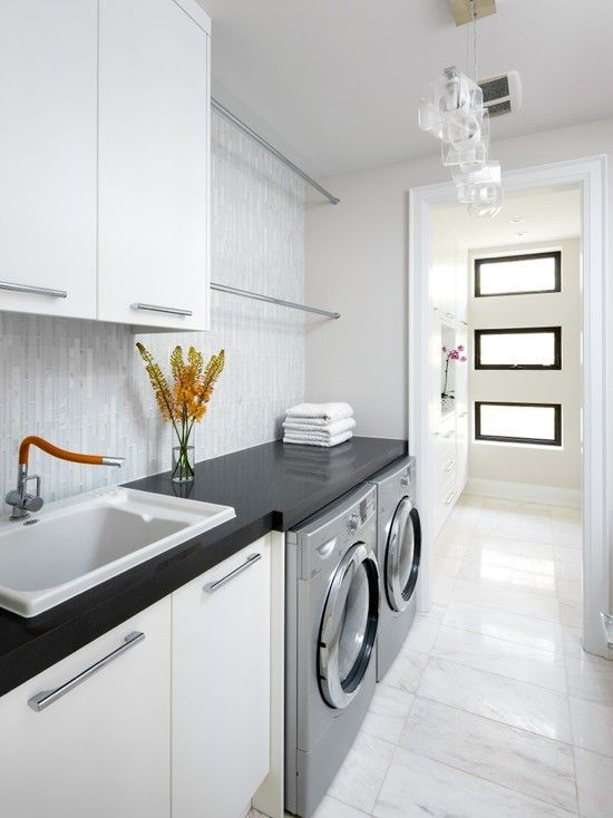 24 Laundry Room Ideas Worry Freeing Your Irking Chore Stylish Laundry Room Laundry Room Design White Laundry Rooms