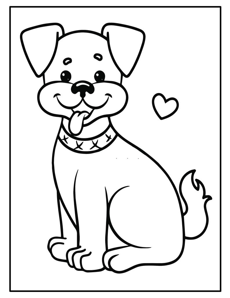 Printable Puppy Coloring Pages Kids Party Games Birthday Favor Coloring Sheet Baby Shower Activities School Class Teacher Games Puppy Coloring Pages Dog Coloring Book Free Kids Coloring Pages