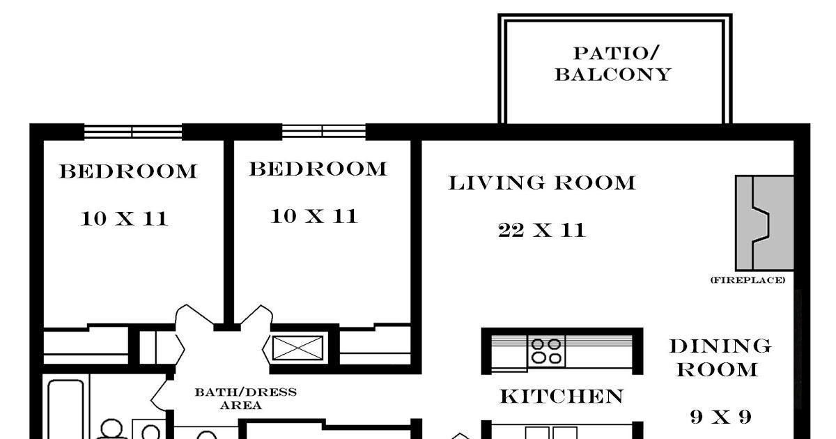 Decoration Small Two Bedroom Apartment Floor Plans Plan Nice 2 Bedroom In 2020 Apartment Floor Plans Interior Design Apartment Bedroom 2 Bedroom Apartment Floor Plan