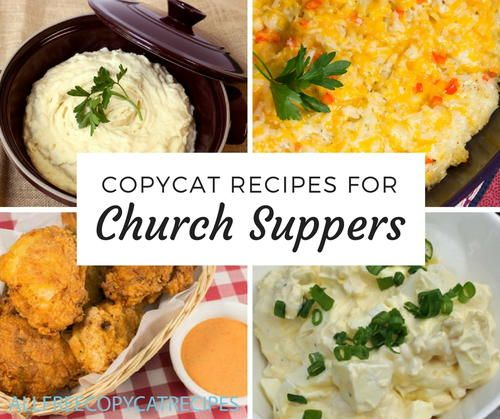 24 Copycat Church Supper Recipes #charlestoncheesedips
