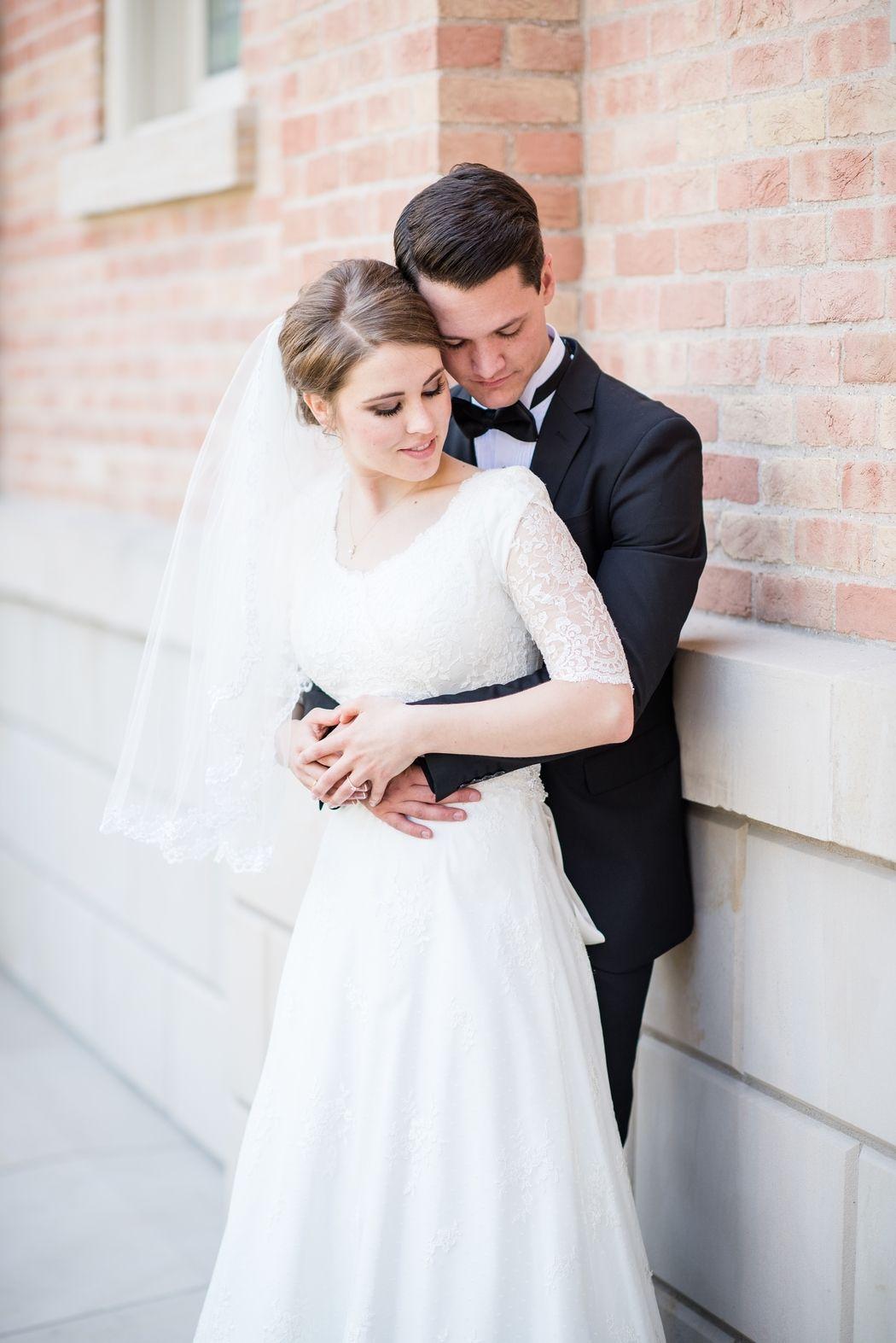 Provo City Center Temple LDS Wedding by Michelle & Logan | M & L ...