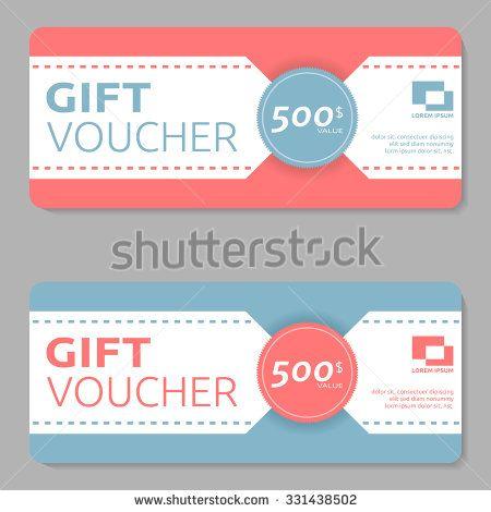 27 best images about Gift Voucher Design – Voucher Design
