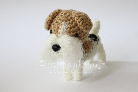 Kerry Blue Terrier dog with wire frame. Amigurumi Crochet Pattern ... | 380x570