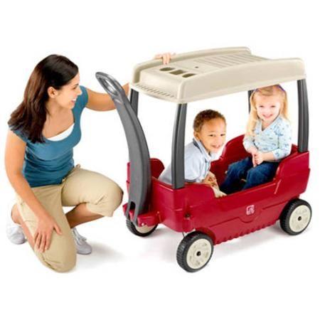 Step2 Canopy Wagon Kids Wagon Baby Car Seats Ride On Toys