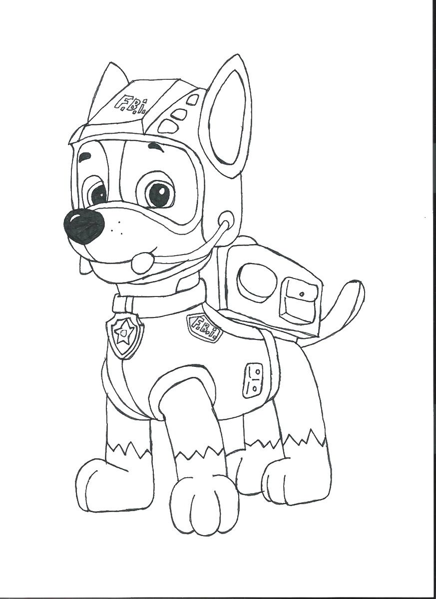 Print Now Colouring Kids Paw Patrol Coloring Pages