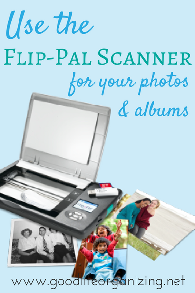The Flip Pal Mobile Scanner Photo Organizing Review Photo
