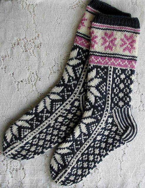 Ravelry Sweatergoddess Norwegian Socks Stickat Sticka Strumpor Stickning