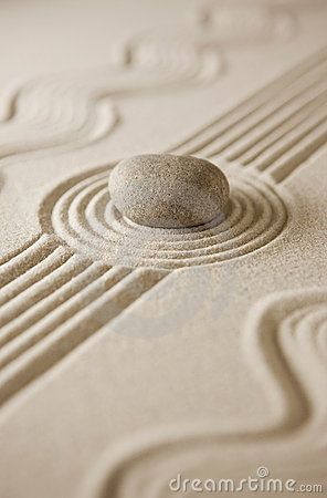 Sacred Space ༺♡༻ Breathe Deep And Let Go Of Things ~ Miniature Zen Garden  By Whoopi