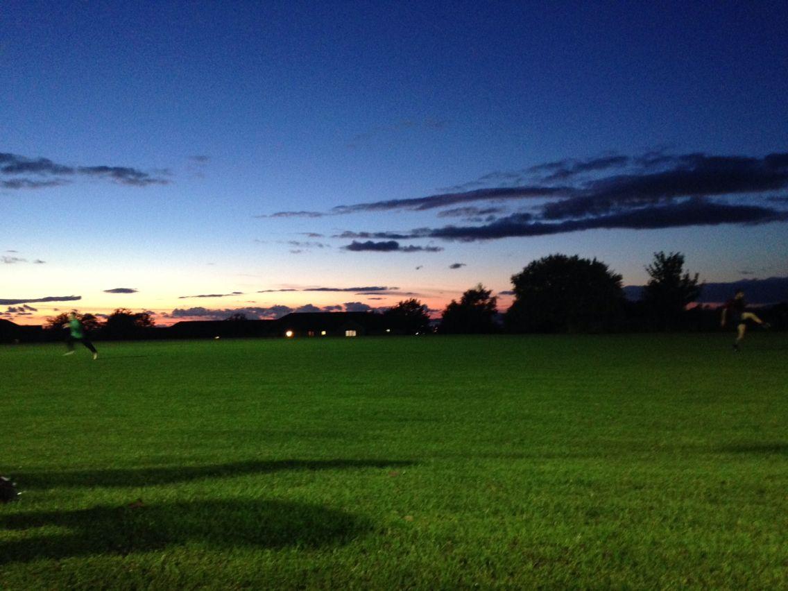 Lancastrian sunset