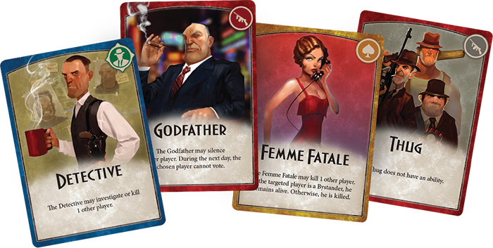El club del dado Mafia game, Card games, Mafia