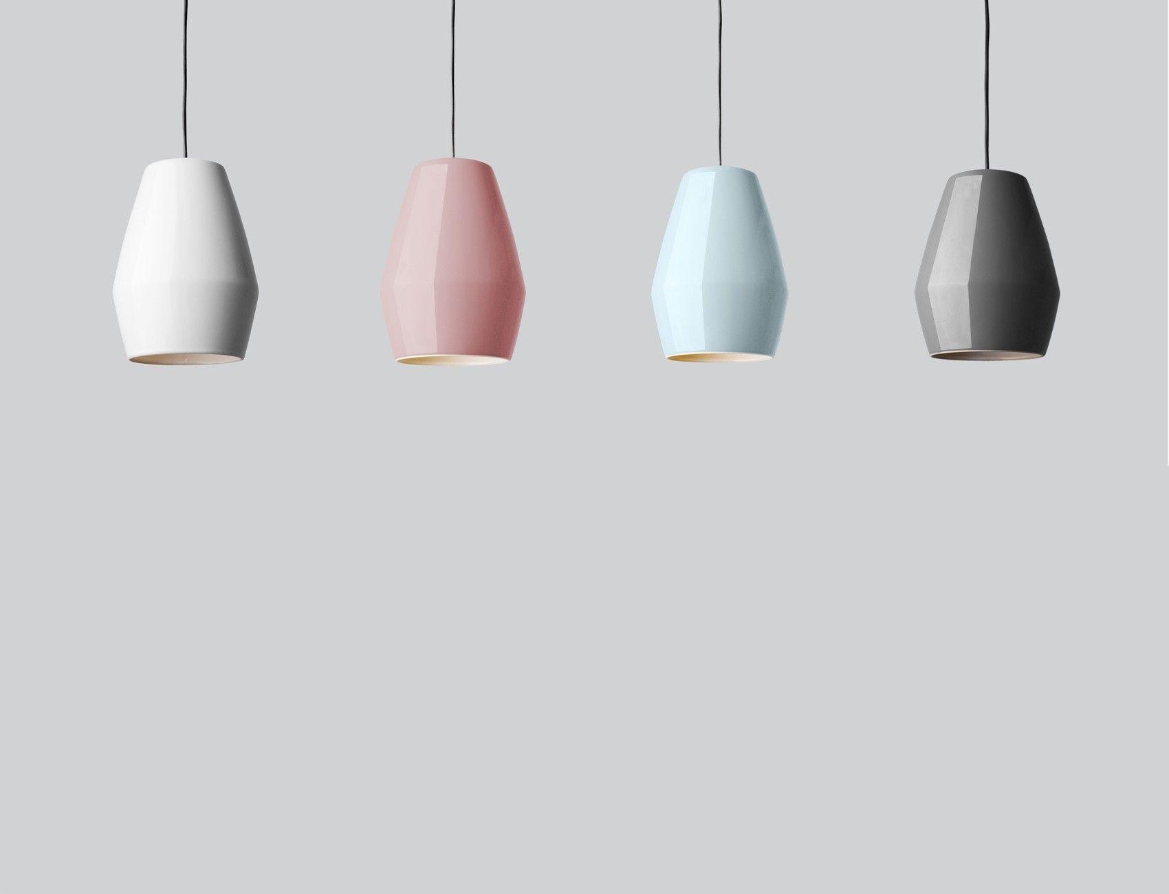 Northern Lighting Bell Pendant Light Funktion Alley Porcelain