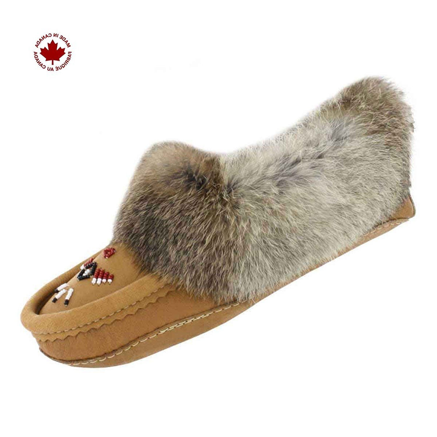 SoftMoc Women's Rabbit Fur Collar Moccasin ** Find out more details by clicking the image : Women's Shoes