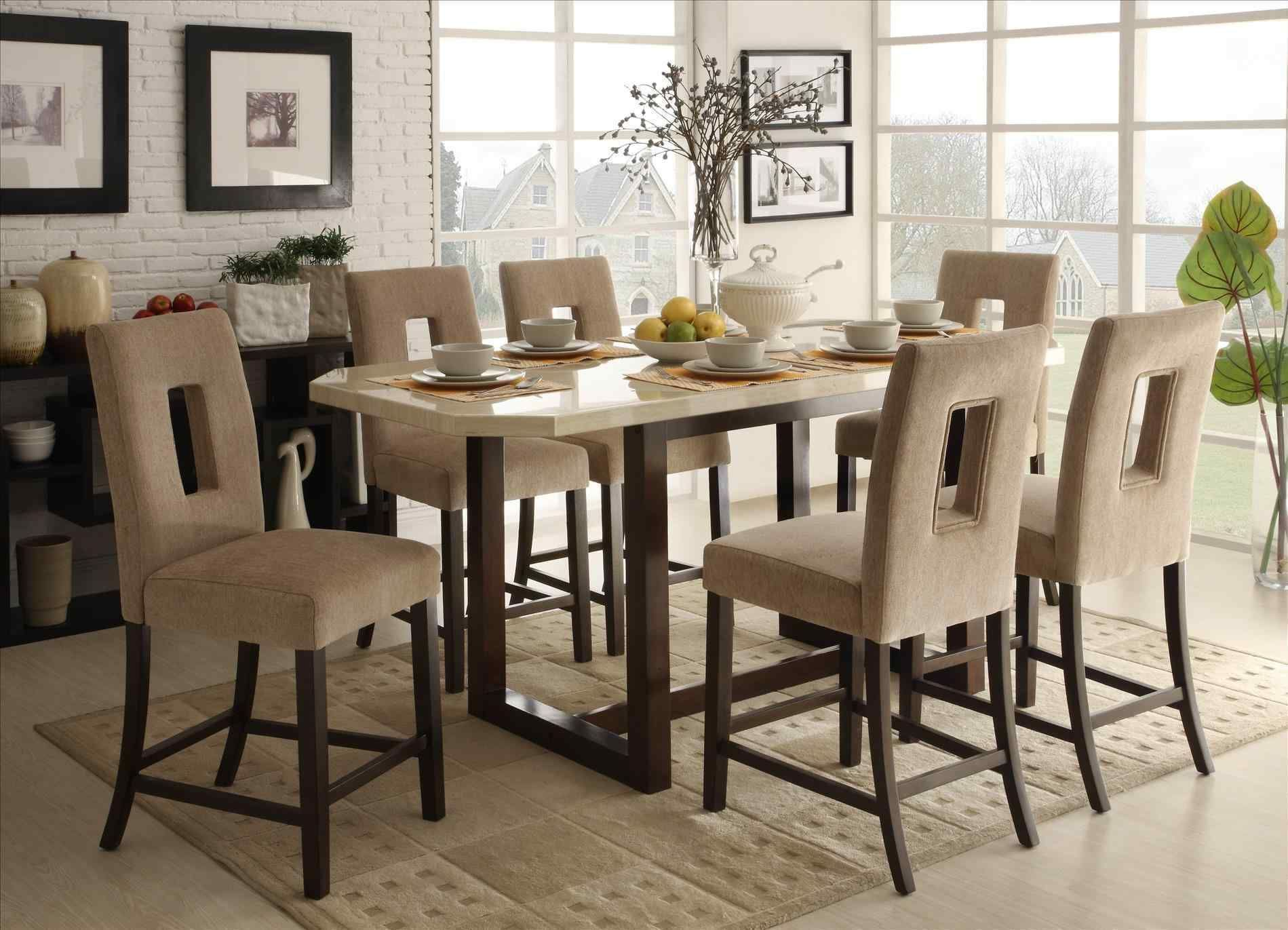 9 Wonderful White Dining Room Table Seats 9 — BreakPR   Counter ...