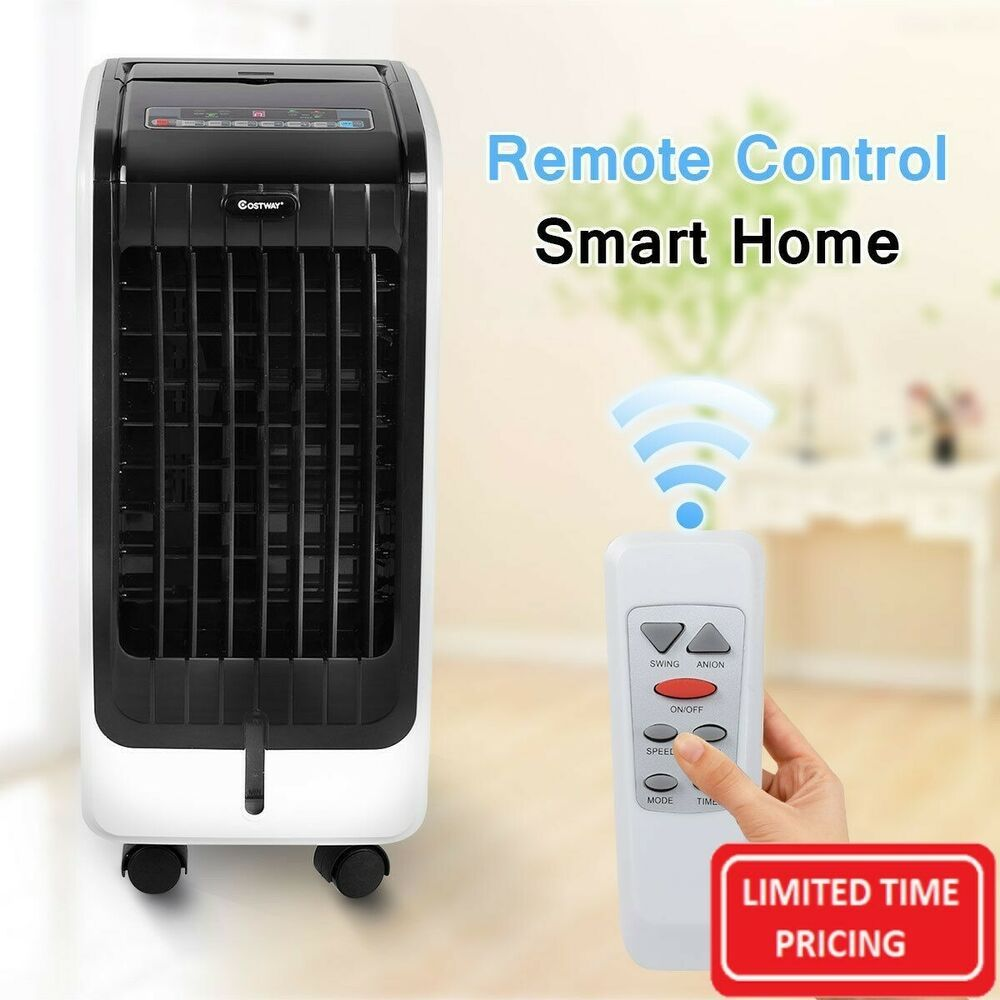 Portable Air Conditioner Cooler Ac Unit The Costway Evaporative Cooler Is An Air Cooler And Humidif Portable Air Conditioner Air Cooler Evaporative Air Cooler