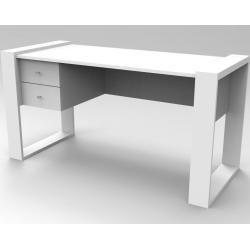 Maja Möbel Set+ Schreibtisch 150x70x75cm Platingrau/Grauglas Majamaja