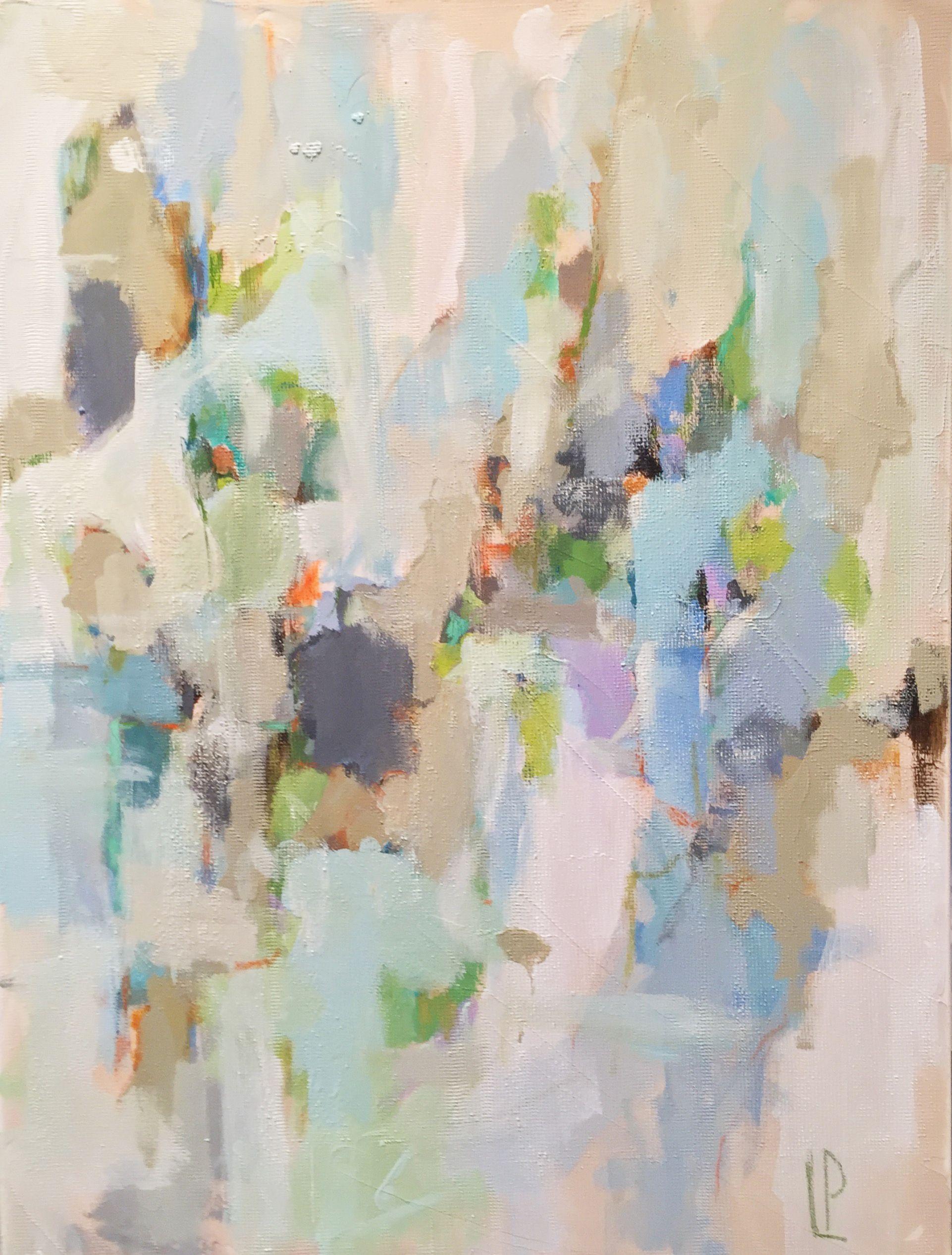 """Laura Park """"rainy Day"""" 40x30 Gregg Irby"""