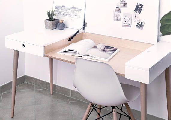 Modern Work Desk Writing Desk Study Desk Laptop Desk Mid