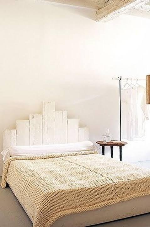 d co chambre 6 diy pour r aliser une t te de lit bricolage lit deco chambre et tete de. Black Bedroom Furniture Sets. Home Design Ideas