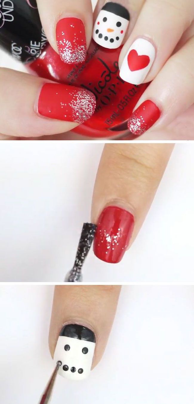 here are the 11 best christmas nail art ideas christmas only comes around once a year we need to go all out - Best Christmas Nail Design Ideas