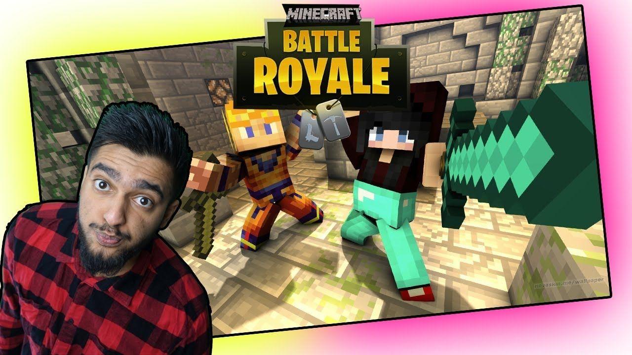 Minecraft X Fortnite Wir Spielen Wieder Minecraft BATTLE ROYAL DUO - Minecraft bogen spiele