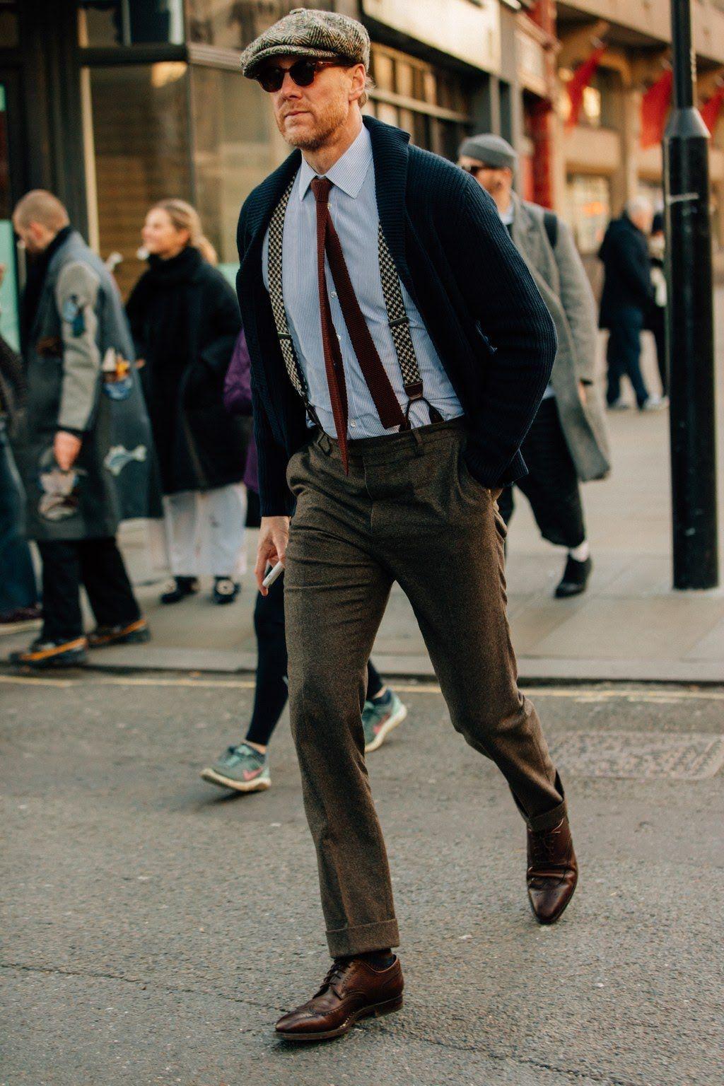 5eb8ccafa8a10 Street Style London Fashion Week Menswear Fall Winter 2018 – 2019 ...