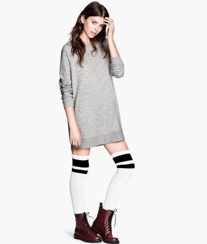 Long sweatshirt dress