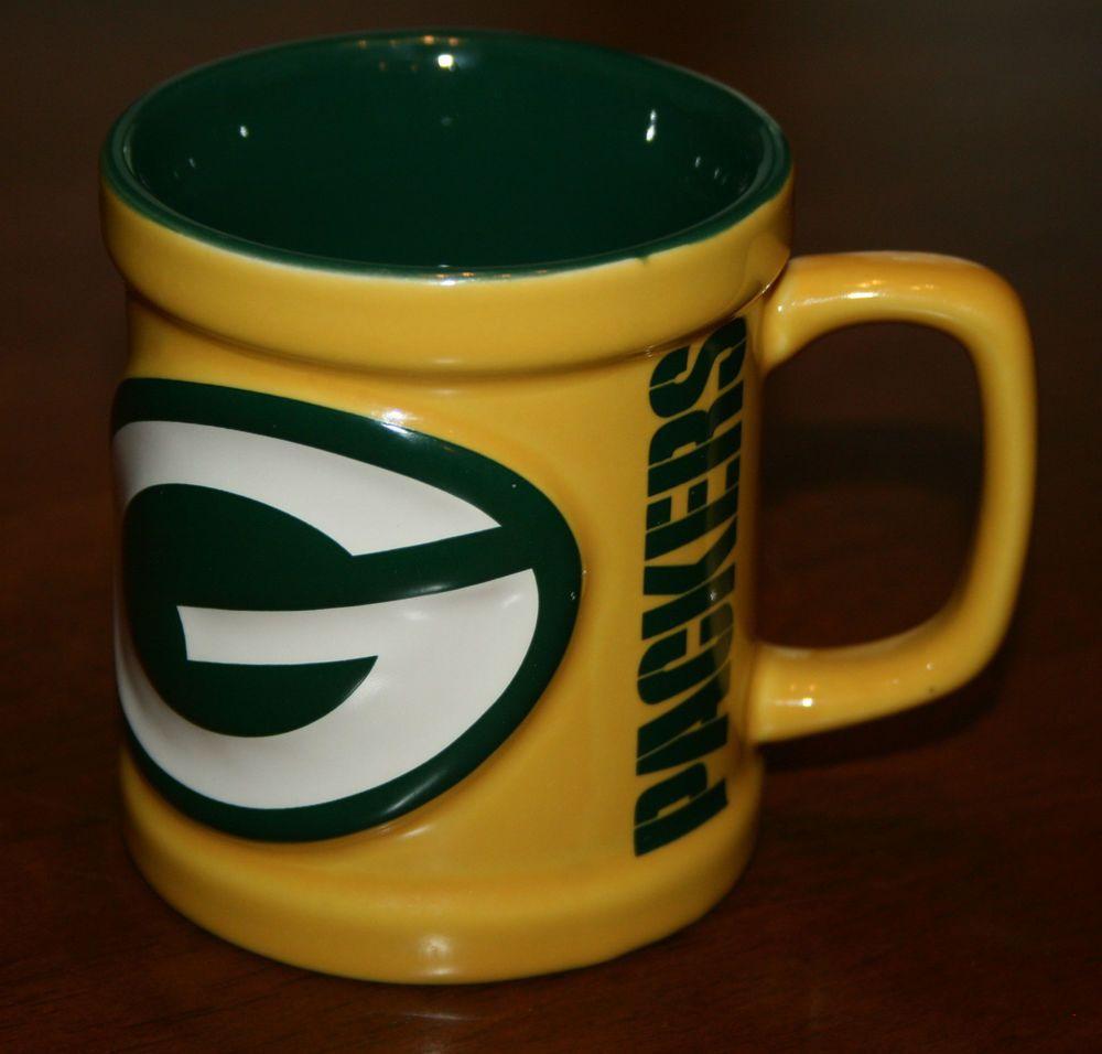 Green Bay Packers Football 3d Ceramic Mug Coffee Cup New Greenbaypackers Green Bay Packers Funny Green Bay Packers Clothing Green Bay Packers Football