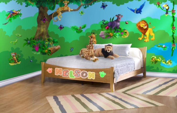 Nice Delightful Jungle Dreams Wall Mural Part   3: Jungle Dreams Wall Mural  Bedroom Kids, Part 13