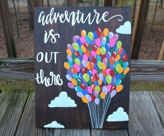 up movie quote adventure is out there nursery by ktscanvases
